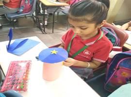 Std. II : Paper Cracker Making Activity