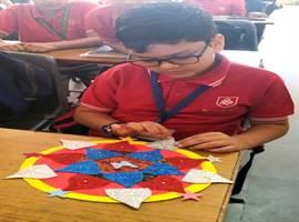 Std. V : Rangoli Making Activity