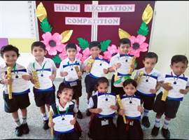 Pre-Primary Hindi Recitation Competition
