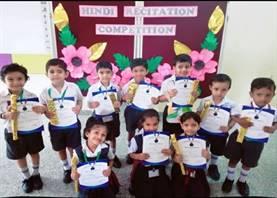 Pre-Primary Hindi Recitation Competition