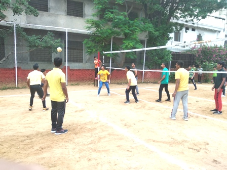 Inter House Volleyball Competition