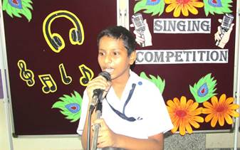 Primary Singing Competition 2018-19